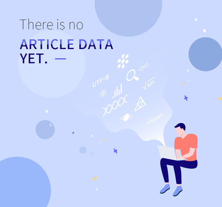 there is no ARTICLE DATA YET. -